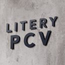 Litery z PCV